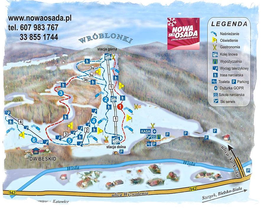 Stok narciarski Nowa Osada